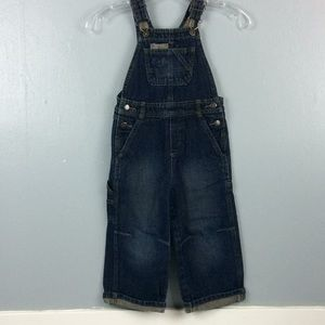 Genuine Kids OshKosh Toddler Bib Overalls Sz 3T